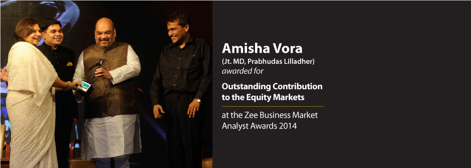 Prabhudas Lilladher :: Zee Business market Analyst Awards 2014