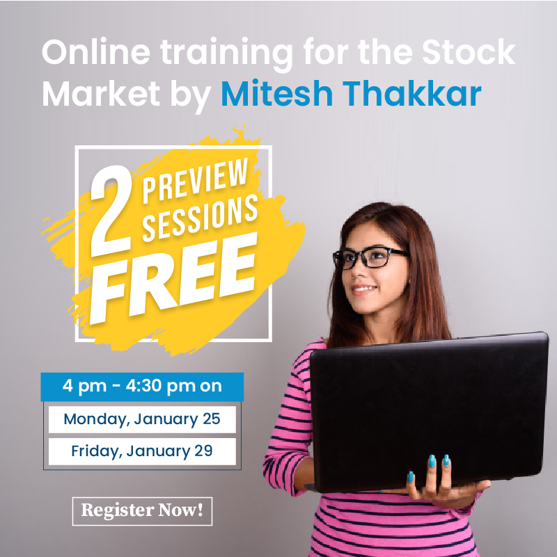 Online training for the stock market by Mitesh Thakkar